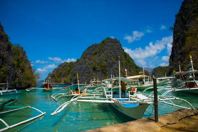 The dock on Coron Island