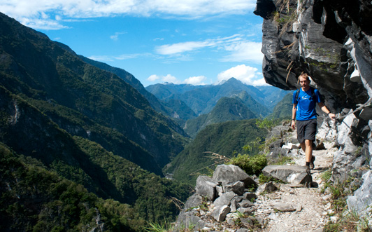 taroko gorge vertigo trail