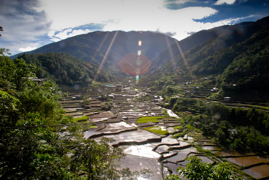 The Hapo Rice Terraces
