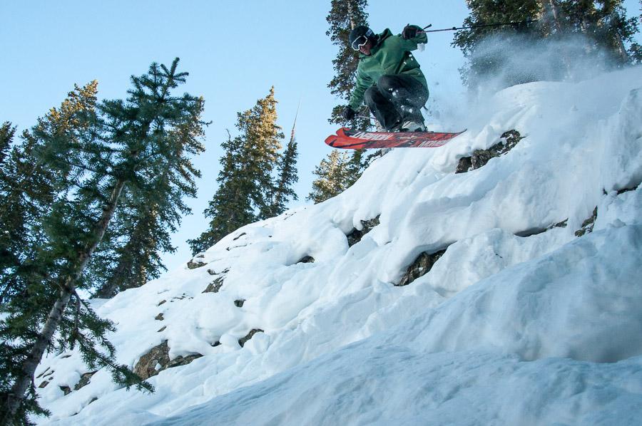 crested butte skier snowboarder 01