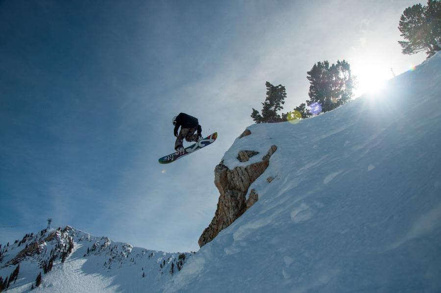 snowbird utah snowboarder