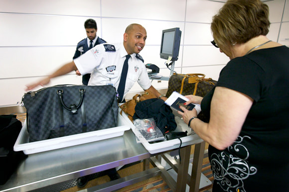 Airport security does not have to be an unpleasant experience