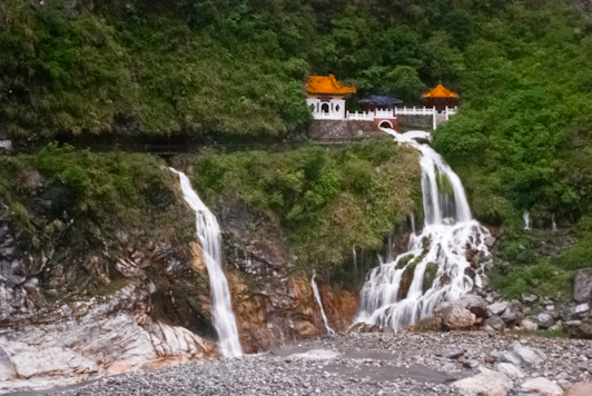 the Eternal Spring Shrine, Taroko Gorge, Taiwan