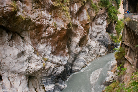 swallow's grotto taroko gorge taiwan