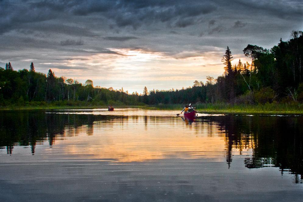 canoeing the Manigotagan river Manitoba (15)