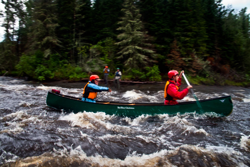 canoeing the Manigotagan river Manitoba (11)