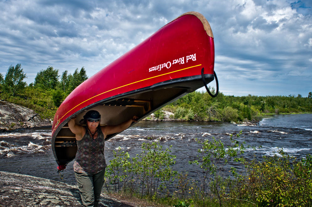 canoeing the Manigotagan river Manitoba (8)