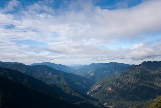 View from Jade Mountain (Yushan)