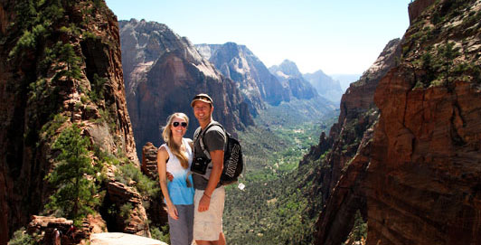 angels landing trail matt n em