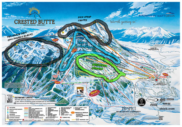 crested butte map web