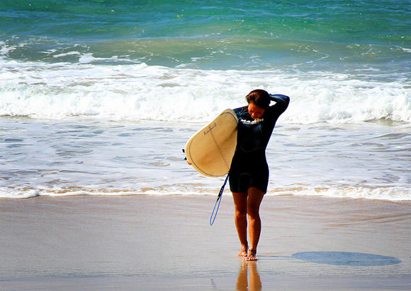 Gold Coast Surfing Girl