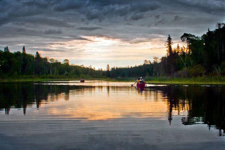Canoeing the Manigotagan