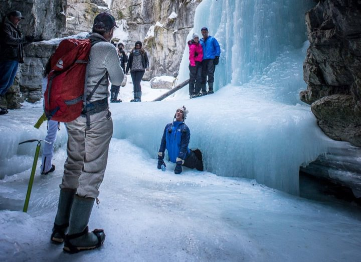Malign Canyon ice cave