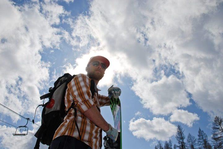 Snowboarder, Ben Gibson