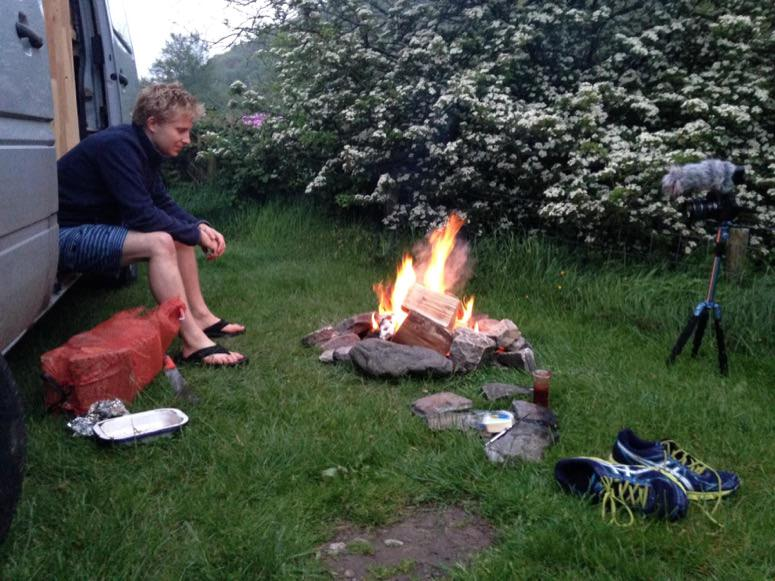 Camping is a perfect microadventure
