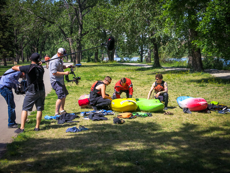 Kayaking lessons in Calgary