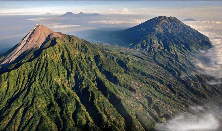 Mount Merapi Indonesia Volcano