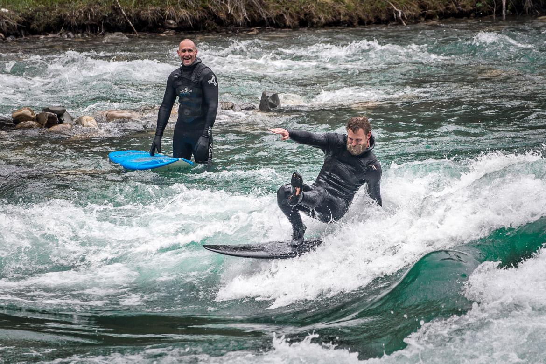 River Surfing Calgary Kananaskis