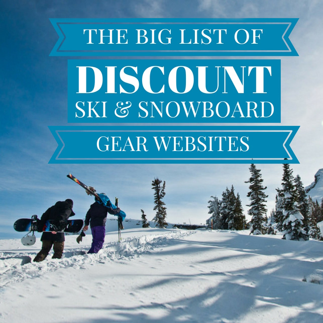 Snowboard shops online
