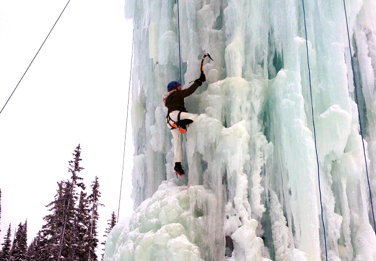 lifetime. Ice Climbing