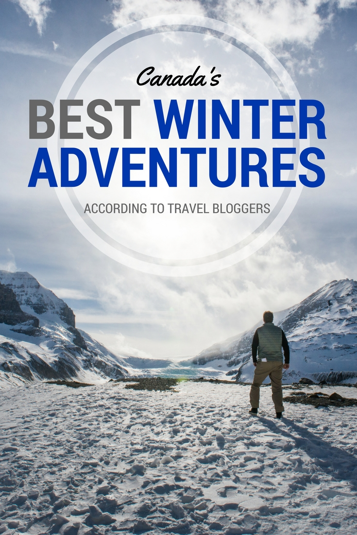 Canada's best winter adventures Pin